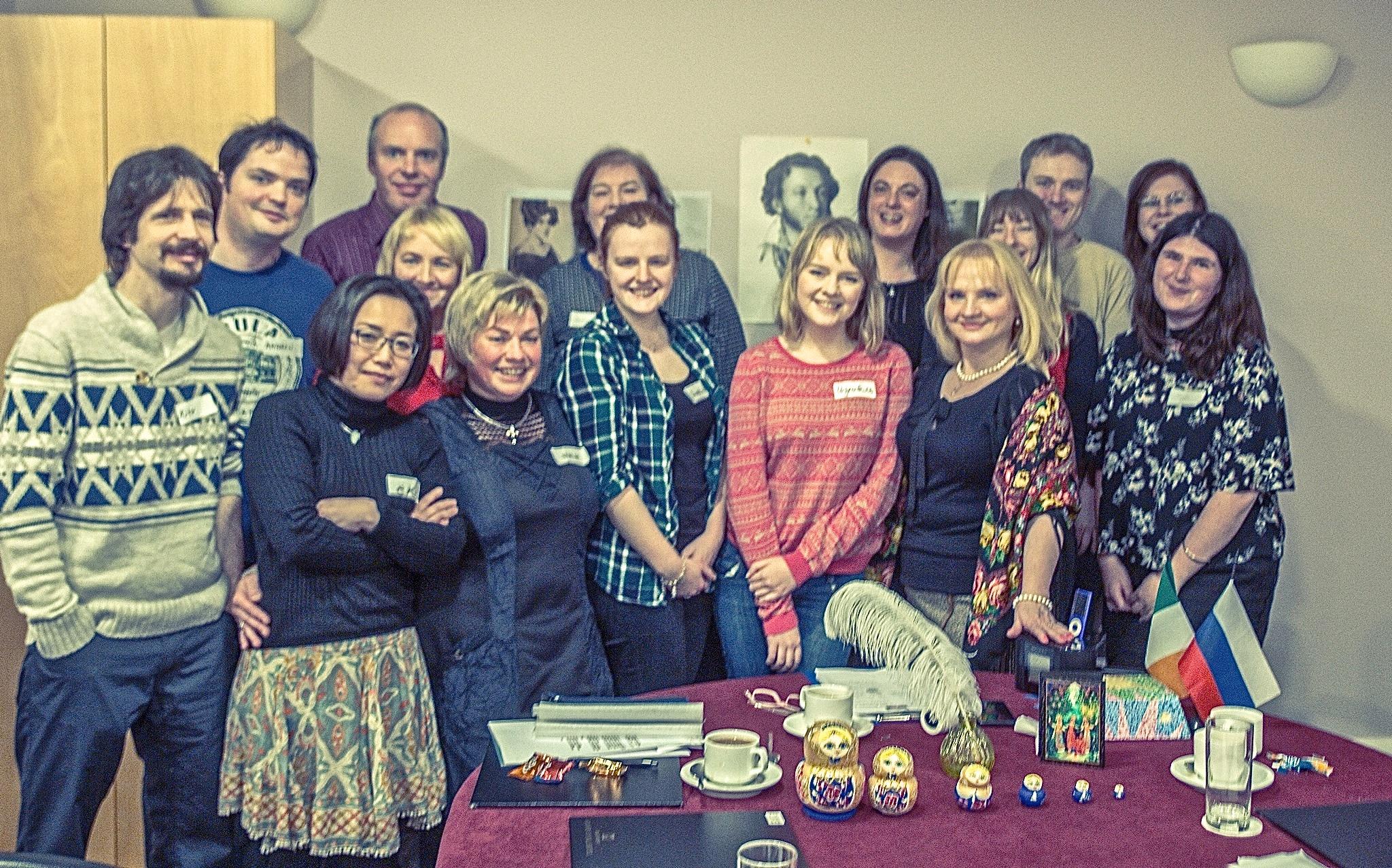Русский языковой клуб в Дублине